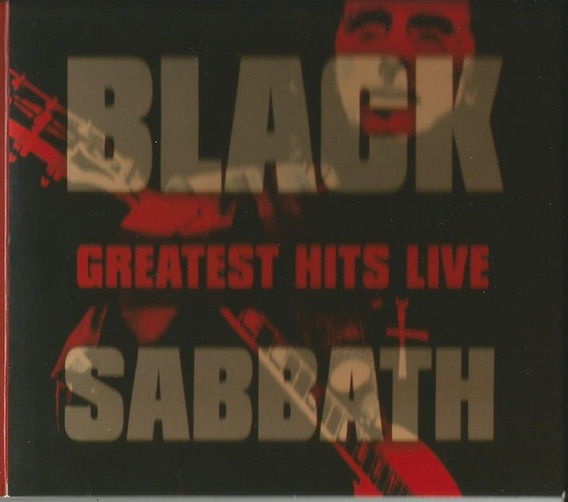 Cd Black Sabbath Greatest Hits Live