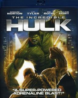 Incredible Hulk (2008) The Incredible Hulk Blu-ray Us Imp