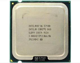 Lote 5 Processadores Intel Core 2 Duo E7400 2.80 Ghz