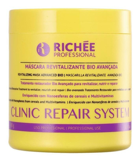 Máscara Revitalizante Richée Clinic Repair System 500ml
