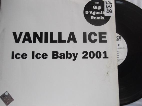 Vanilla Ice - Ice Ice Baby 2001 - Feat. Reanimator- 4 Tracks