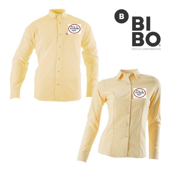 Camisas Y Blusas Mca Bibo De Gabardina Modelo Unico, Basico