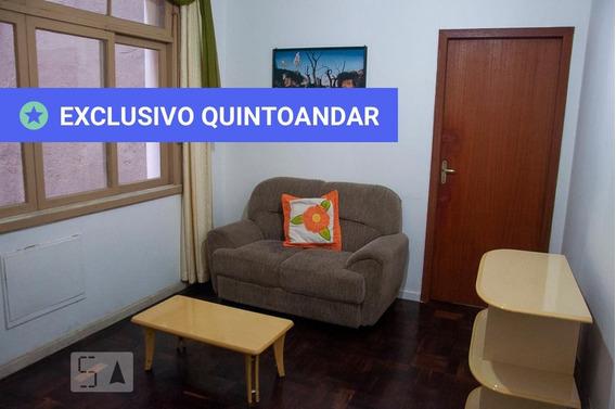Apartamento No 2º Andar Mobiliado Com 1 Dormitório - Id: 892973515 - 273515