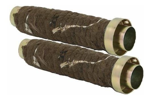 Abafador Ruido Medio Par Tubo Galvanizado 2 Cones Customer