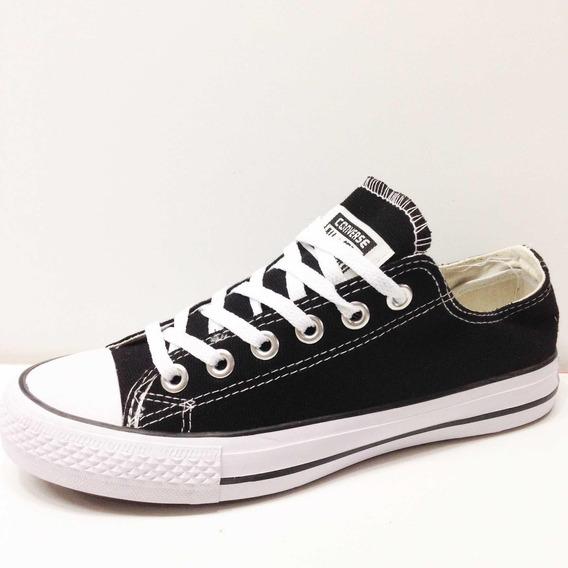 Zapatos Converse Blancas All Star Chuck Taylor Clasico Negra