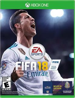 Fifa 18 Xbox One Juego Nuevo Original Físico Español Latino