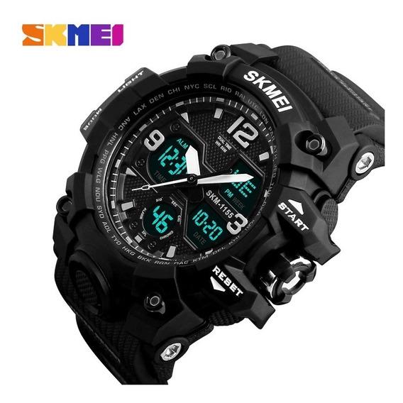 Relógio Pulso Masculino S-shock Skimei Original G-shock
