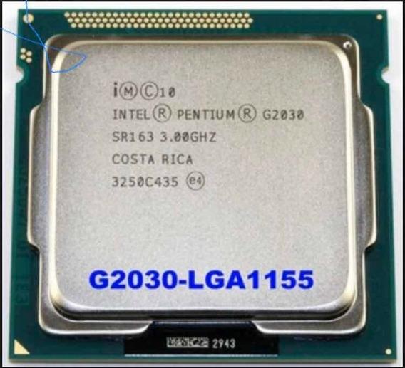 Processador Pentium Dual Core G2030 3ghz