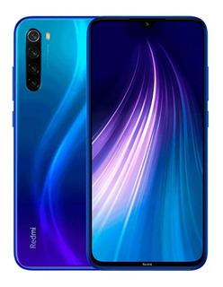 Redmi Note 8 4gb Ram / 128gb Azul + Capa