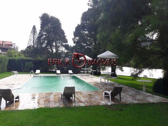 Exclusiva Casa Linear Com 5 Quartos Na Beira Do Lago Da Granja Comary. - Ca00933 - 4449104