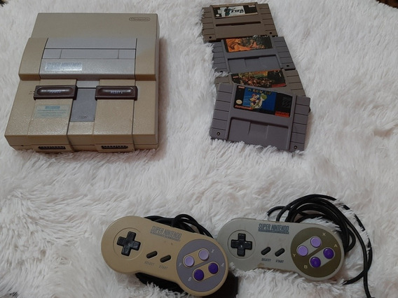 Vídeo Game Super Nintendo Entertainment System