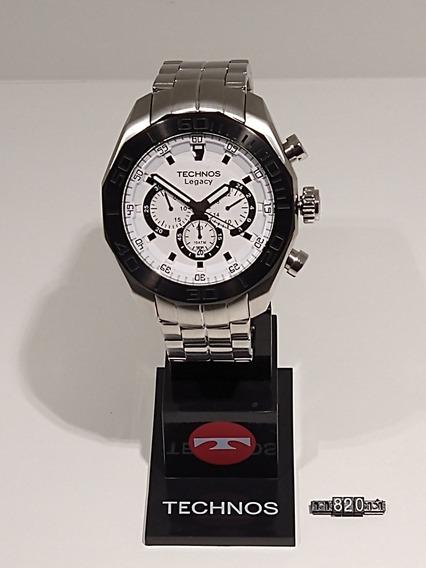 Relógio Technos Legacy Masculino Branco Js25as/1k