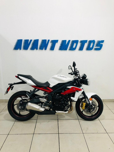 Street Triple 675 R Abs 2014 Branca Manual Chave Reserva