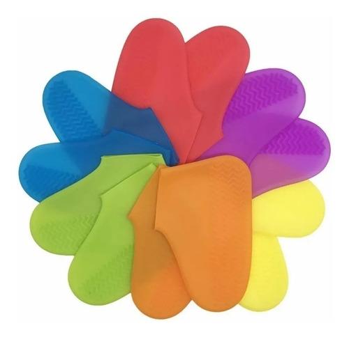 Funda Silicona Impermeable Protector Zapato Lluvia Antidesli