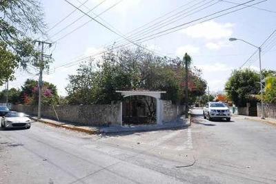 Se Vende Terreno En Esquina Chuburna De Hidalgo Merida Yucatan