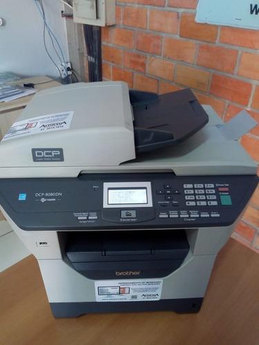 Impressor Multifuncional Brother 8080dn, Semi Nova