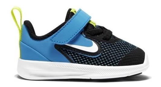 Tenis Padres Original Nike Downshifter 9 Psv 7014 Negro Bebé