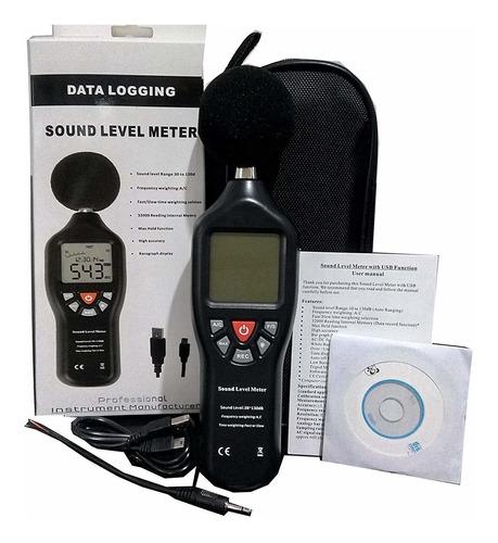 Sonometro Medidor De Ruido Tipo Ii