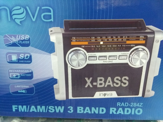 Rádio Inova Rad_284z Fm/am/sw 3 Band