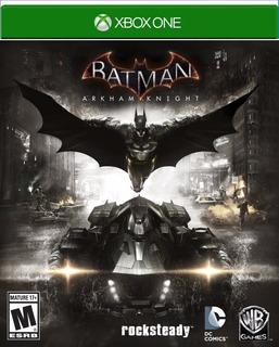 Batman Arkham Knight Xbox One Sellado