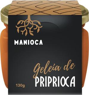 Geleia De Priprioca 130g Manioca - 100% Natural.