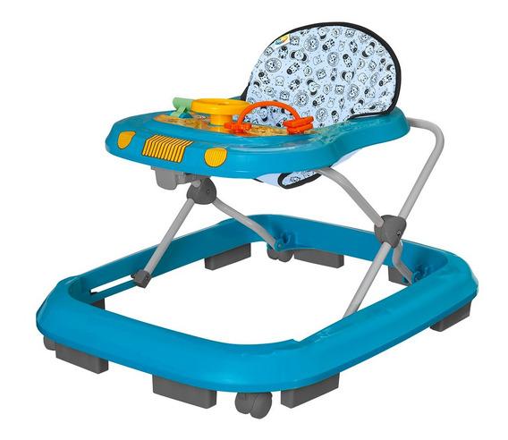 Andador Infantil De Bebê Safari Tutty Baby Azul
