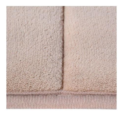 Imagen 1 de 3 de Tapete Para Baño Foam Rc 40x60 Cm Taupe