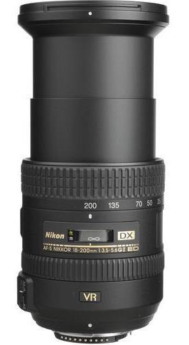 Lente Nikon Nikkor Af-s 18 - 200 3.5-5.6g Ii Ed