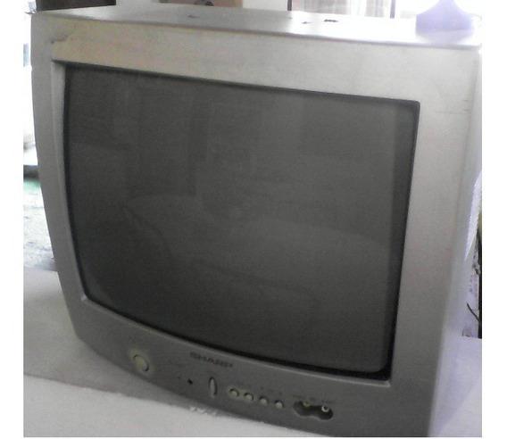 Televisor Sharp De 14 Pulgadas Usado Buen Estado