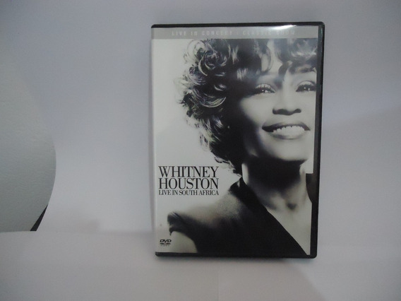Dvd Whitney Houston Live In South Africa ( Frete R$ 8,00 )