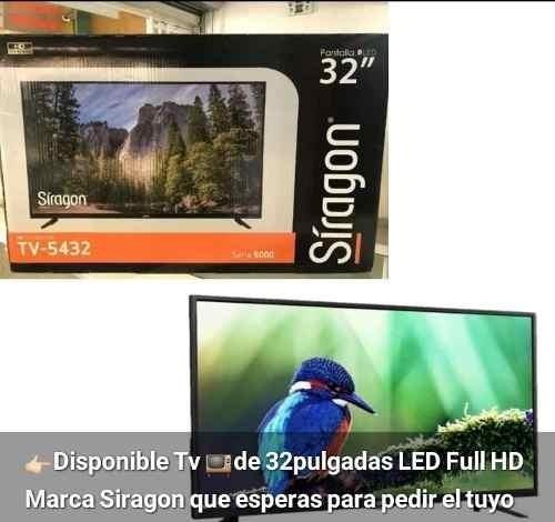 Televisor Led Siragon 32 Pulgadas Nuevo A Estrenar 150vds
