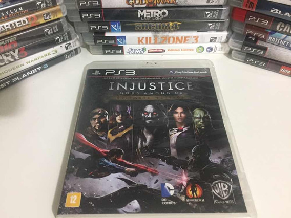 Jogo Ps3 - Injustice Gods Among Us Ultimate Edition