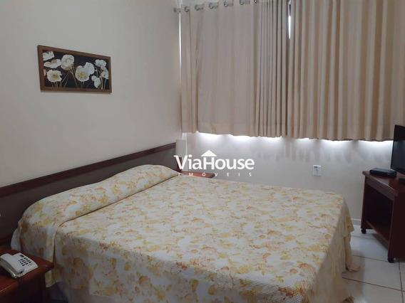 Flat Com 1 Dormitório Para Alugar, 54 M² Por R$ 1.500,00/mês - Centro - Ribeirão Preto/sp - Fl0068
