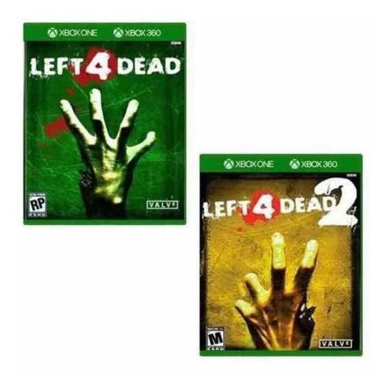 Left For Dead 1 E 2 - Xbox One - Midia Digital + Brinde