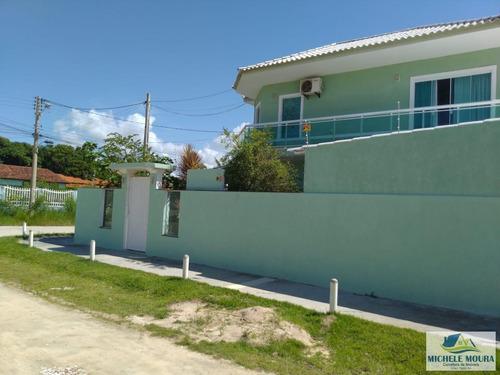 Imagem 1 de 15 de Casa 4 Dormitórios Ou + Para Venda Em Araruama, Pontinha, 4 Dormitórios, 3 Suítes, 5 Banheiros, 3 Vagas - 59_2-234351