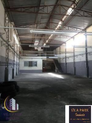 Galpão Para Alugar, 235 M² Por R$ 4.700,00/mês - Umuarama - Osasco/sp - Ga0062