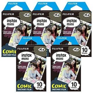 Fujifilm Instax Comic Instant Film 5 Pack Para Mini 8 Cámara