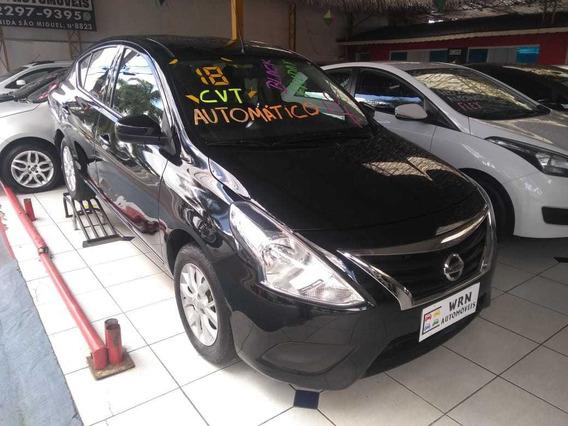 Nissan Versa 1.6 16v Sv Aut. 4p 2018