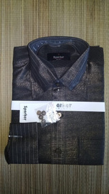 Camisa Seda Luxo Importada