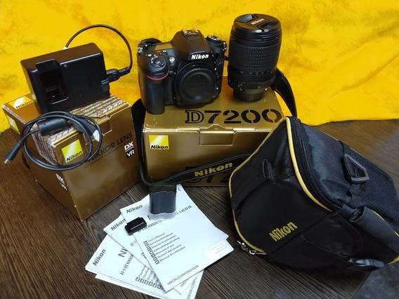 Nikon D7200 + Kit 18-140