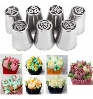 7 Duyas Rusas Tulipan, Para Decorar Cake