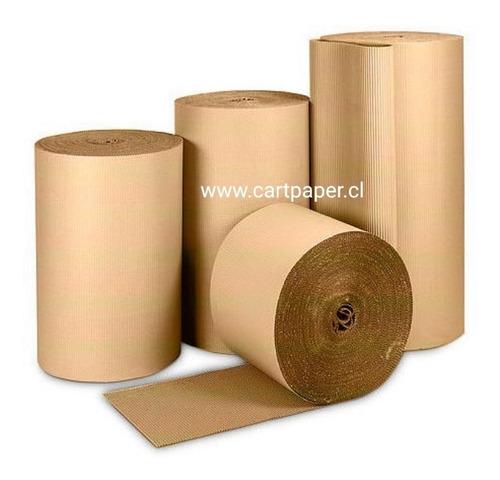 Rollo Cartón Corrugado 30m X 0.6m
