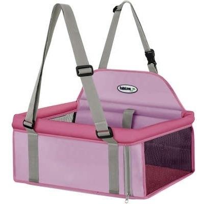 Assento Tubline Transpet Rosa Para Cães E Gatos 10kg
