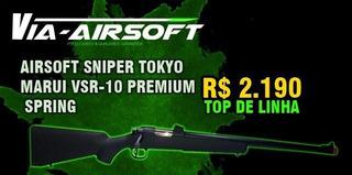 Rifle Sniper Airsoft Tokyo Marui Vsr10 Premium Spring 6mm