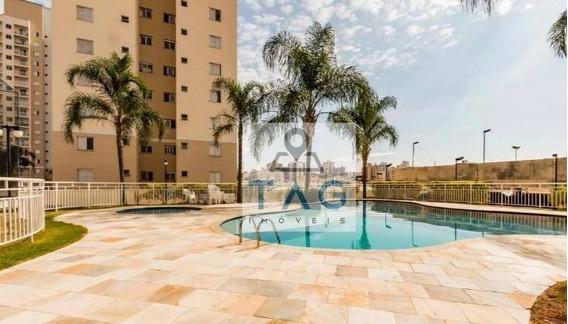 Apartamento Com 2 Dormitórios, 1 Vaga Garagem À Venda, 54 M² Por R$ 340.000 - Bonfim - Campinas/sp. - Ap0474