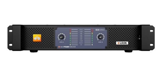 Amplificador Db Series Ld2k - 2100w Rms 2 Canais Bivolt Nfe