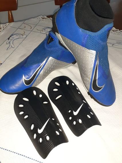 Chuteira Nike Phantom Vsn Academy Society Original Usada
