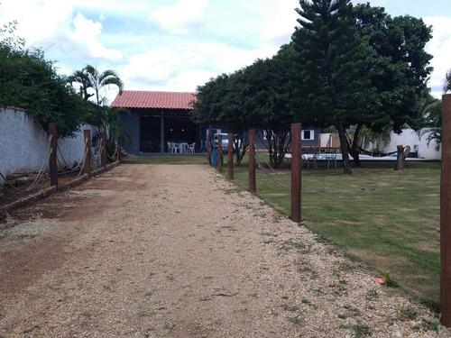 Imagem 1 de 12 de Chácara  A Venda Localizada No Recreio Campestre Viracopos Em Indaiatuba - Sp - Ch00410 - 69916421