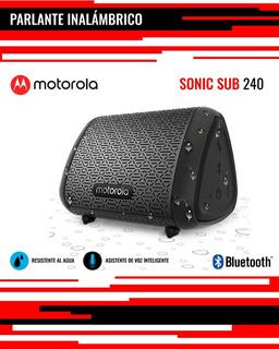 Parlantes Motorola Bluetooth Sub 240 Bass (1558108)