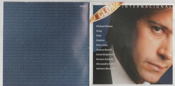 Cd O Clone 2001 Trilha Novela Internacional Encarte Original